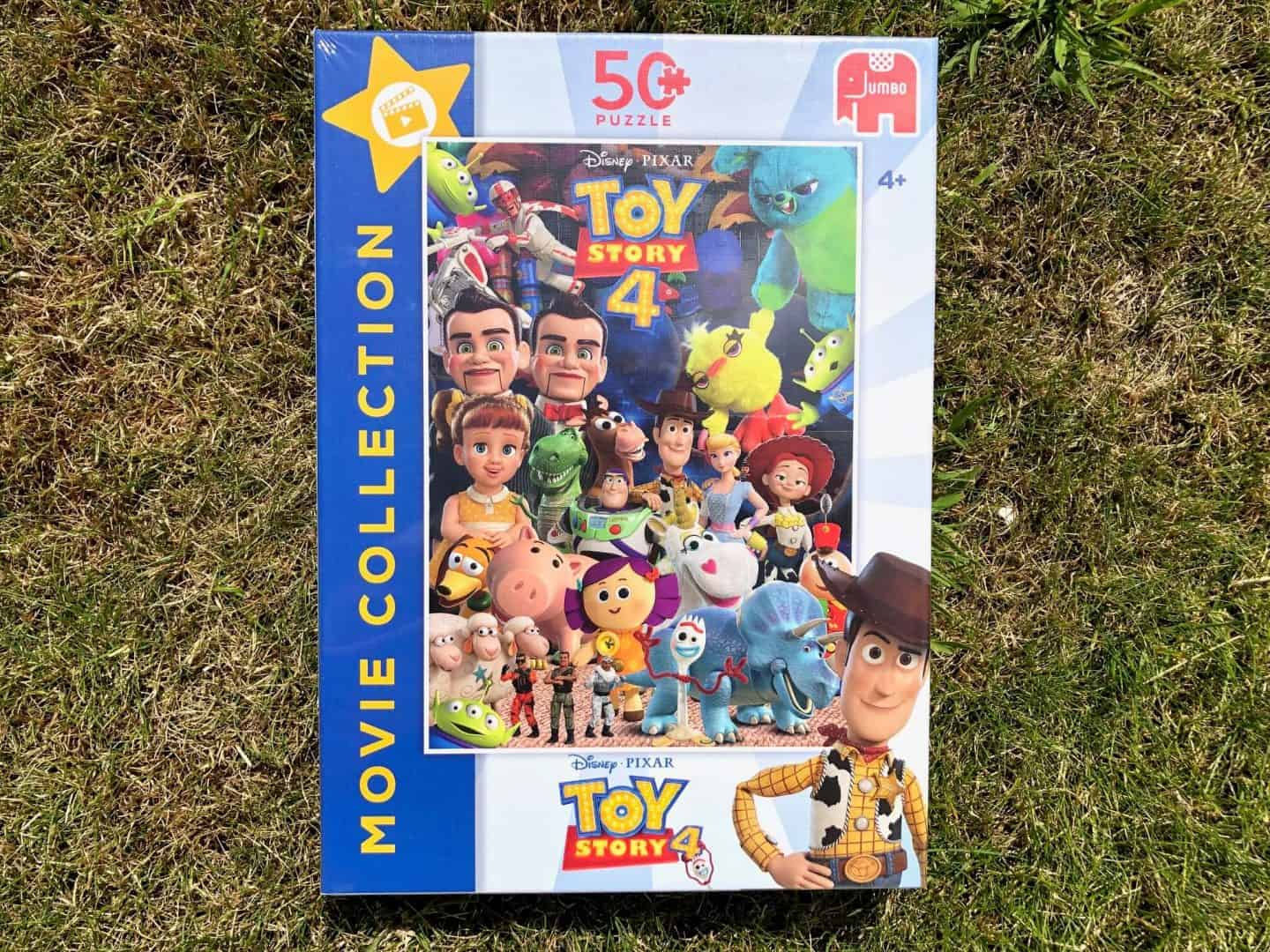 Toy Story 4 jigsaw puzzles from Jumbo. -movie collection