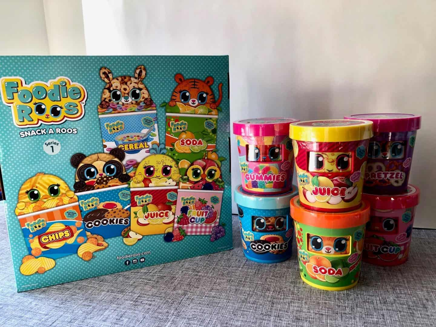 Foodie Roos: Mini Plush Collectible Characters -Review