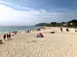 Gyllyngvase Beach - Independent Female-Led Businesses In Falmouth's 'Port'-Folio - Gylly Beach