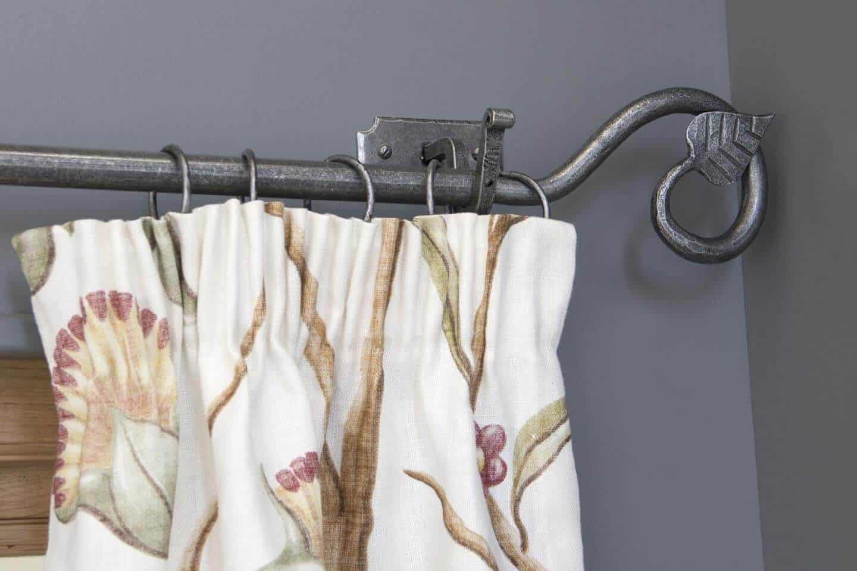 curtain finials,