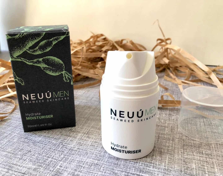 NEUÚ Seaweed Skincare for Men Luxury Moisturiser