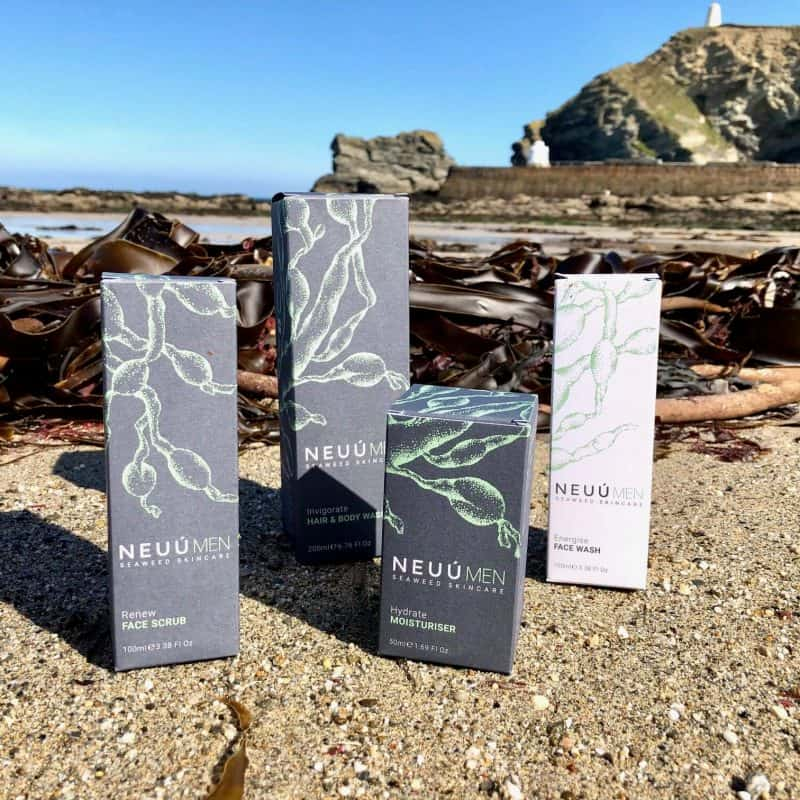 NEUÚ Seaweed Skincare for Men - Product Review