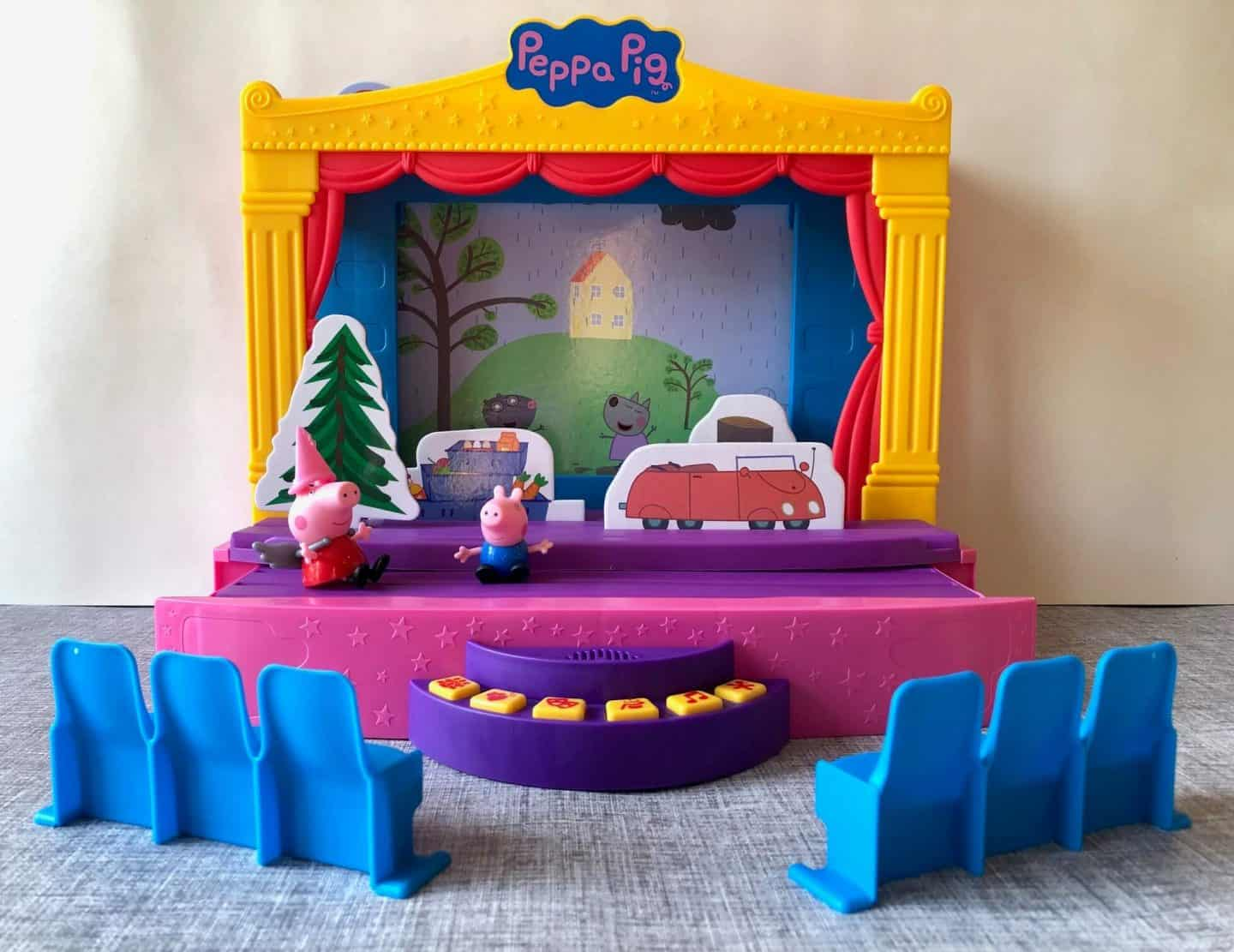 Stage Playset Review stage with seating