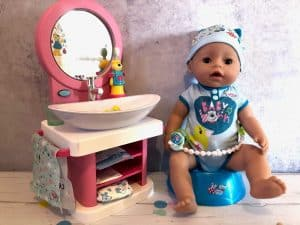 BABY born soft touch boy with toothcare spa