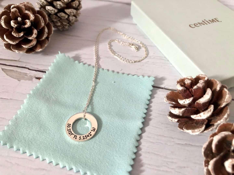 Centime Jewellery - coordinates necklace