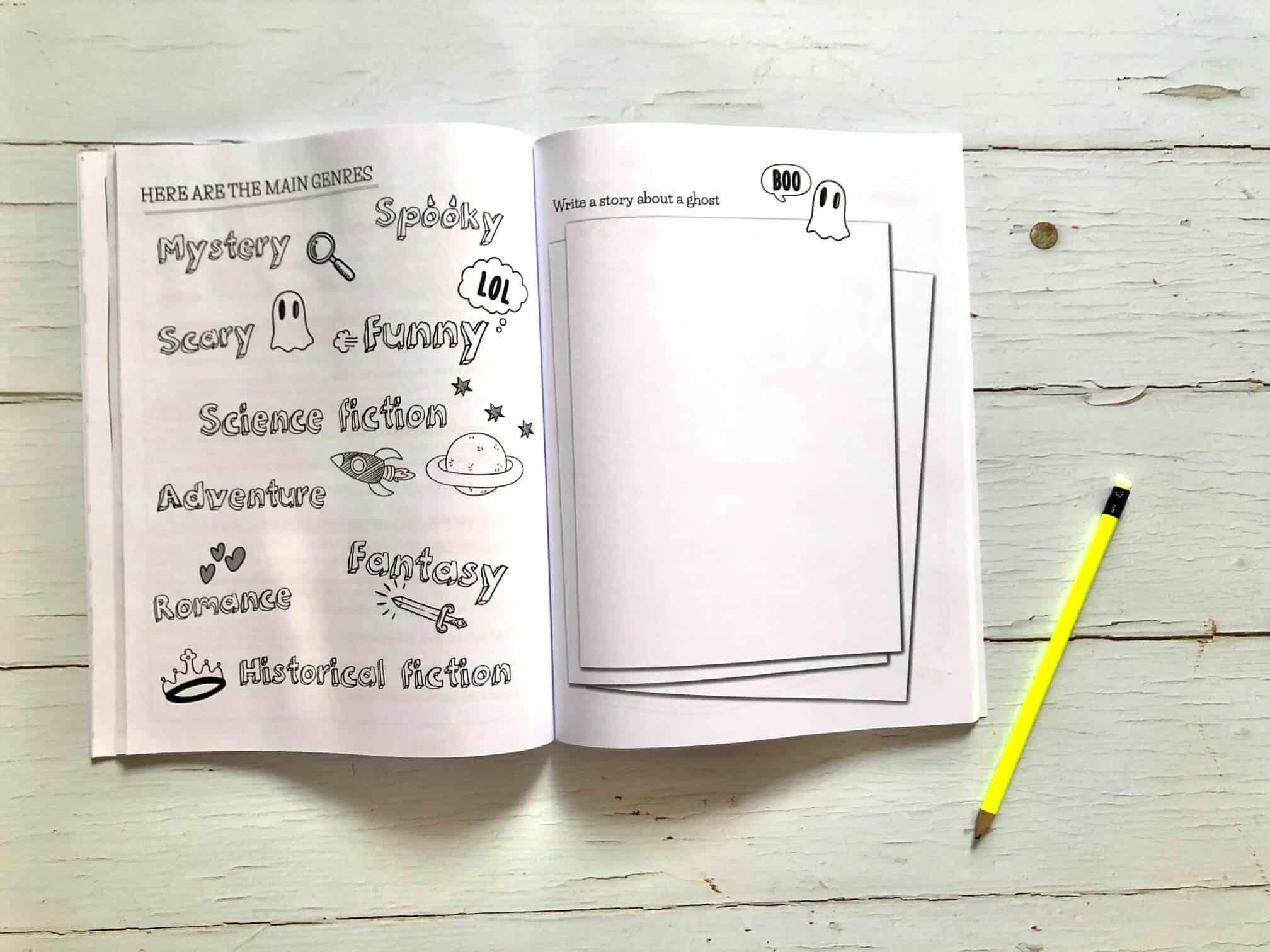 Creative Writing Skills: Over 70 fun activities for children