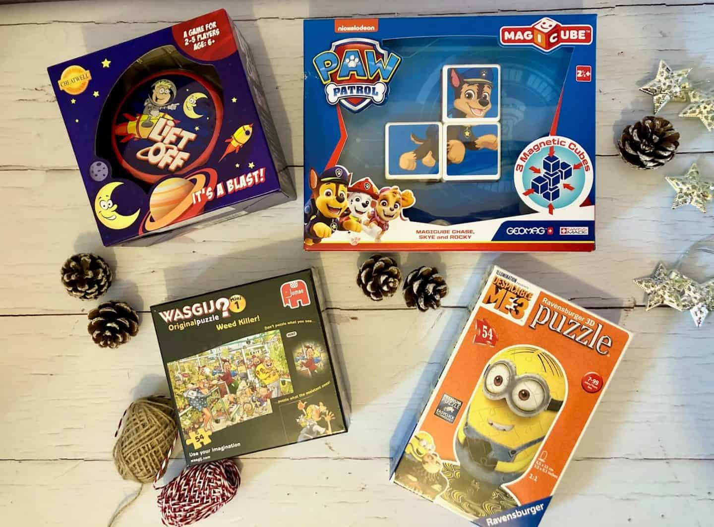 Family games and puzzles for all