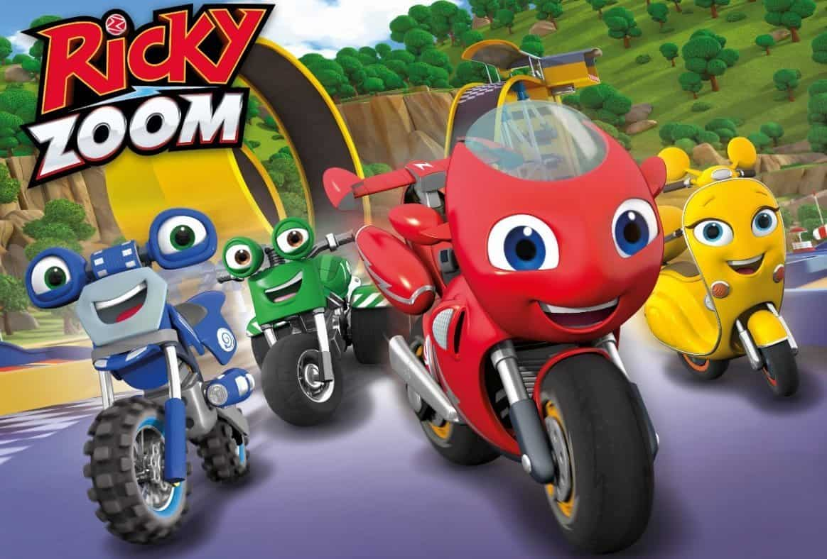 Ricky Zoom and the Bike Buddies