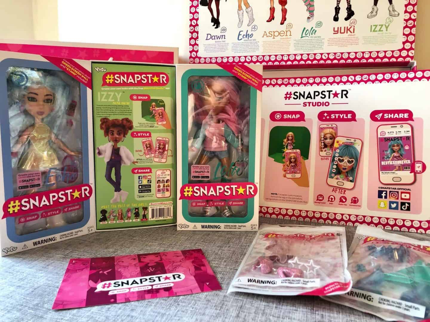 SNAPSTAR Dolls: Snap, Style, and Share - Review