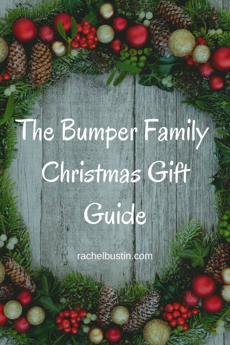 The Bumper Family Christmas Gift Guide - A gift giude for kids, mum's and dad's with stocking filler ideas, gift ideas for the family, Christmas gift kids toys #kidsgiftideas #kidstoys #mumsgifts #dadsgifts