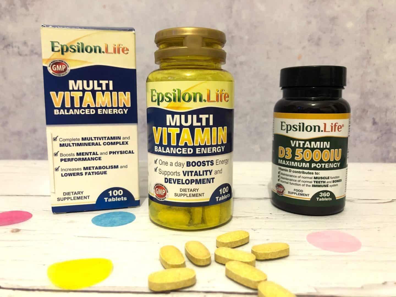 Epsilon Life Multivitamins Review