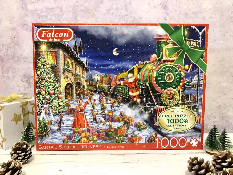Falcon de luxe - Santa's Special Delivery 1000 piece Jigsaw Puzzle