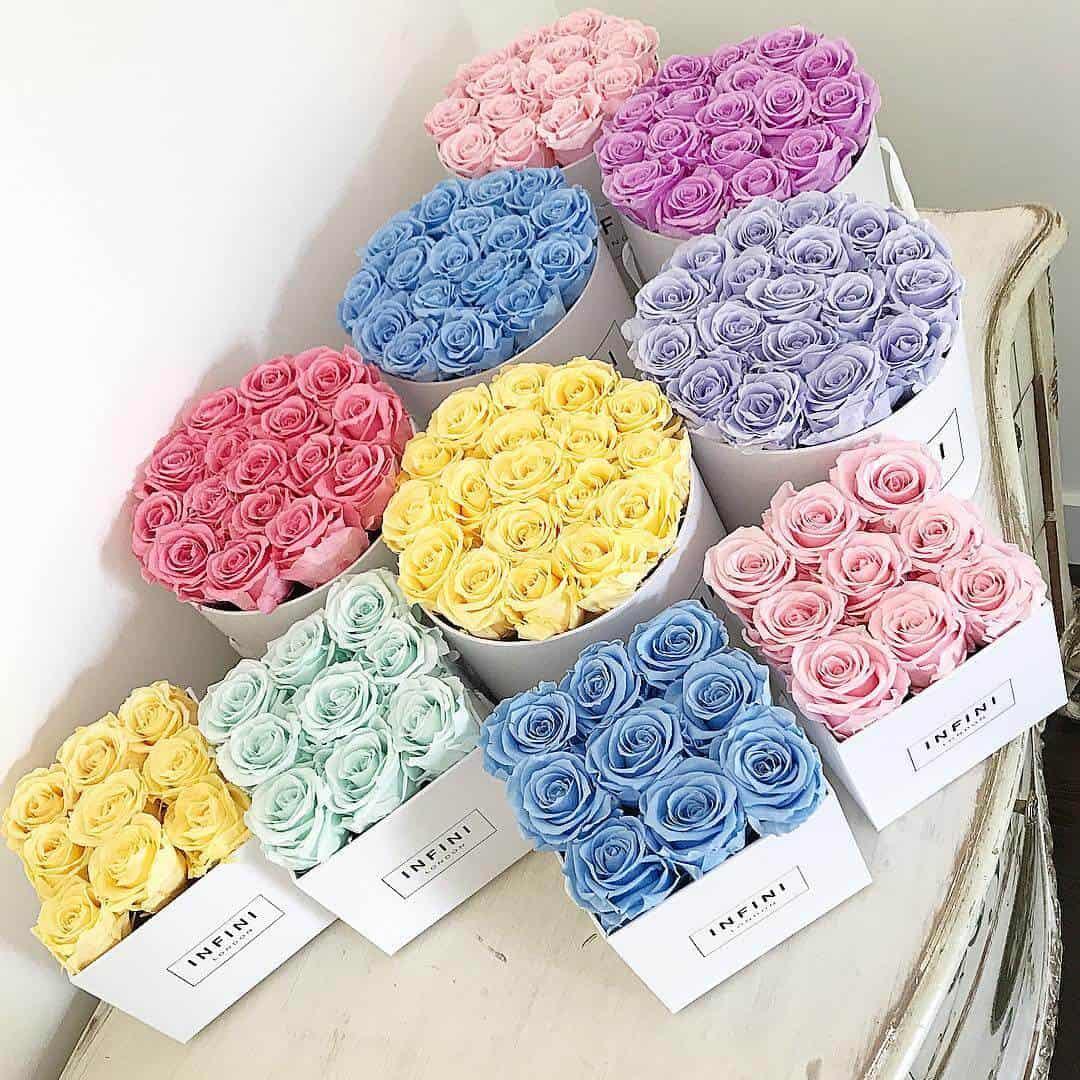 Infini London luxury exquisite roses