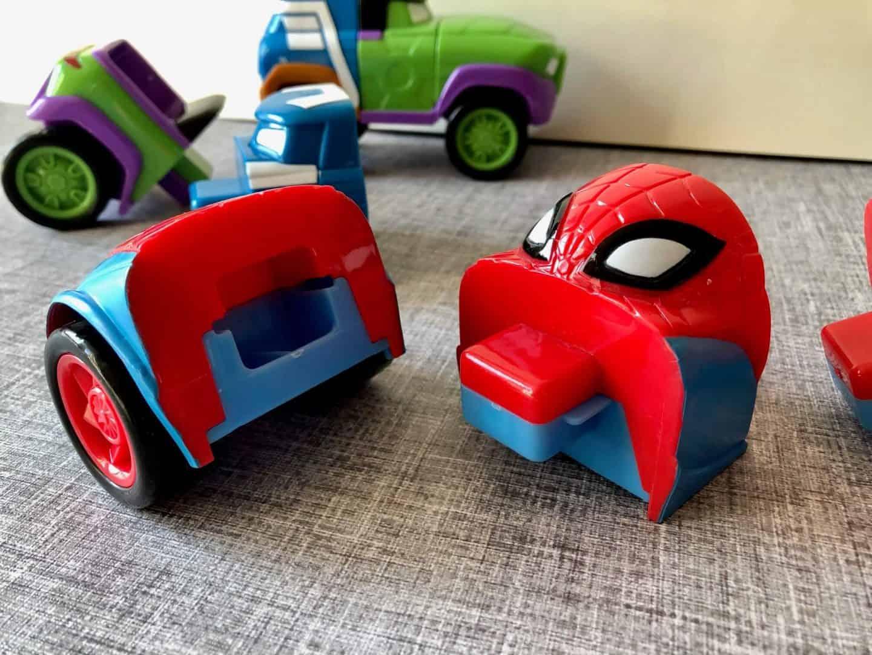 Mod Squad car pieces