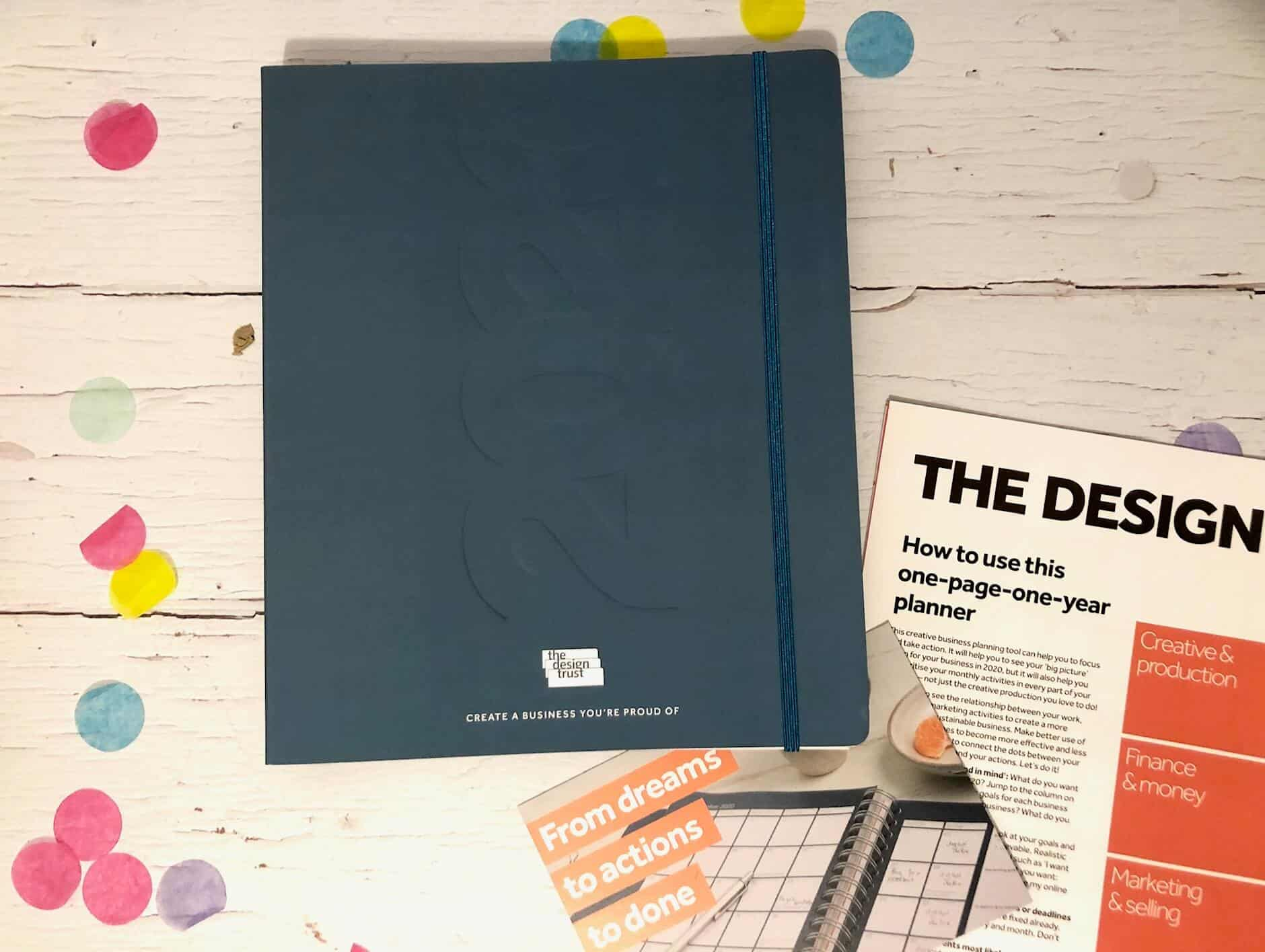The Design Trust: Diary Planner - created especially for creative businesses