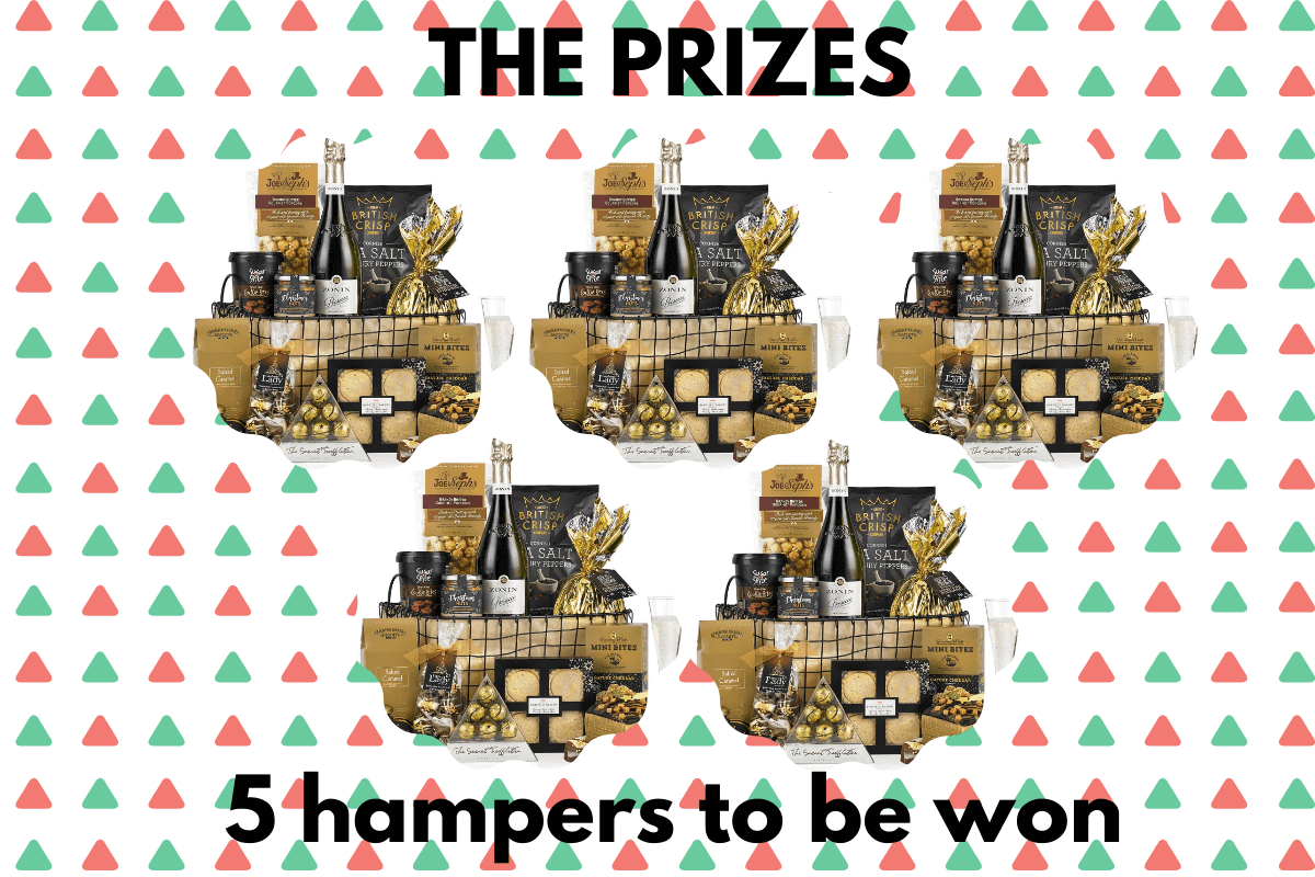 5 Christmas Hampers to be won