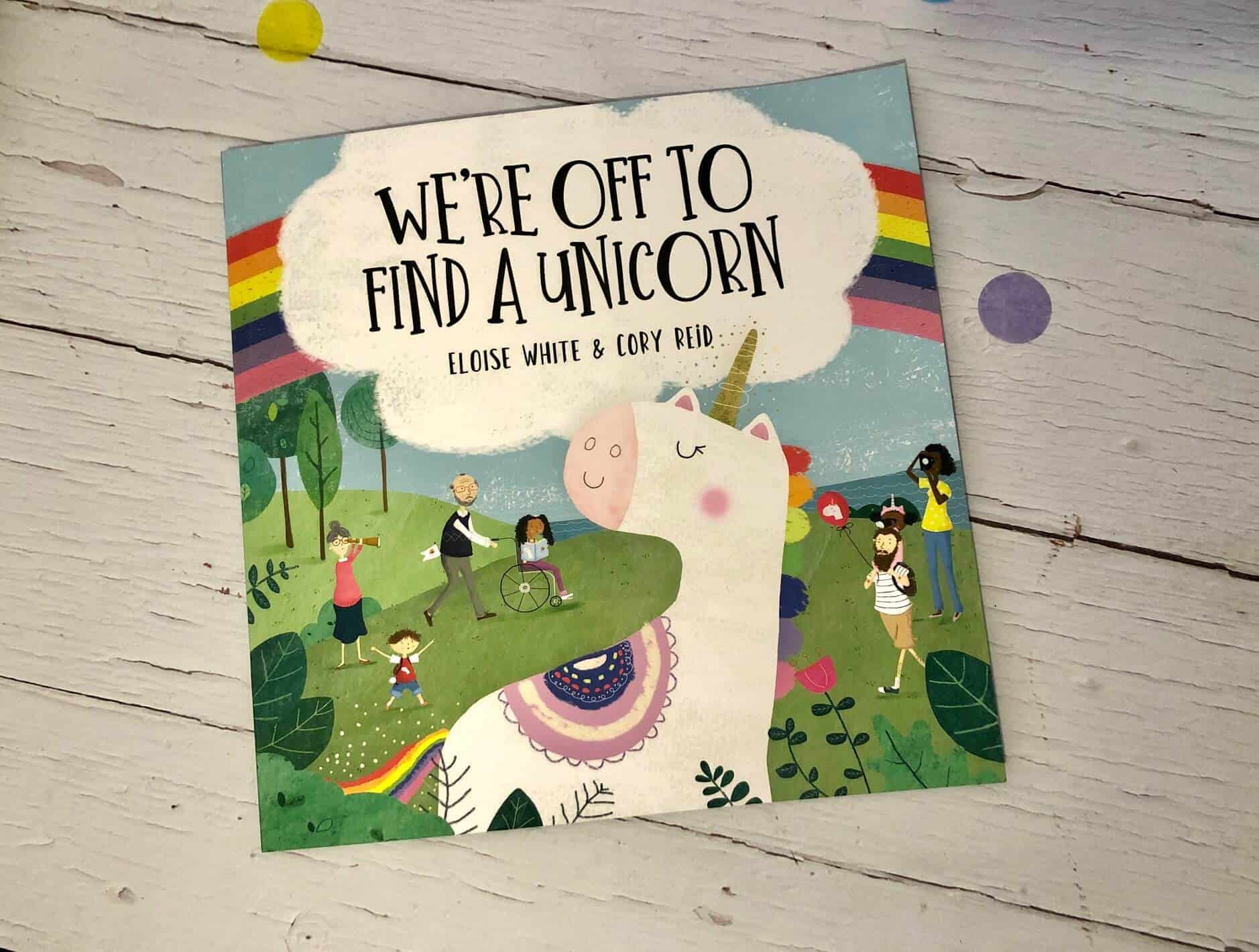 We're Off To Find a Unicorn Book Review
