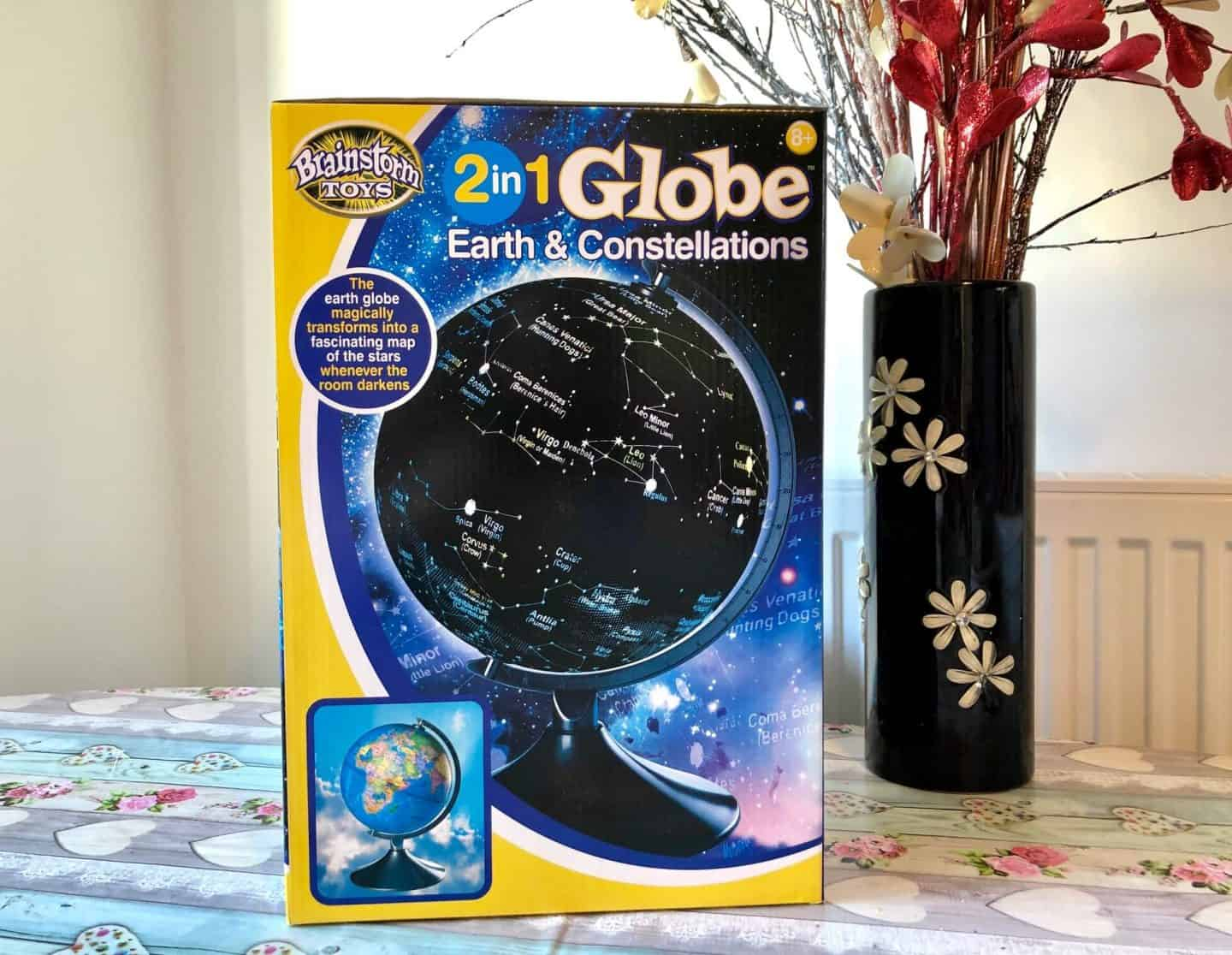 2 in 1 Globe - Earth and Constellations