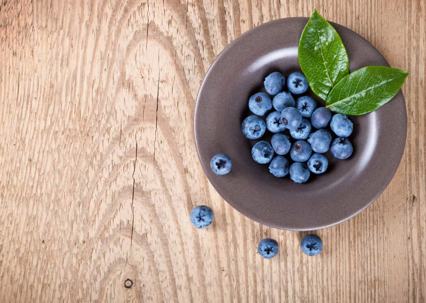 Improve your diet and add nutrients like blueberries
