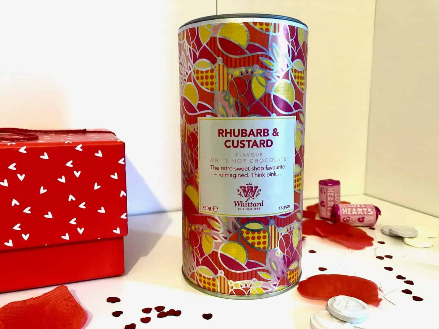 Limited Edition Rhubarb & Custard Flavour White Hot Chocolate