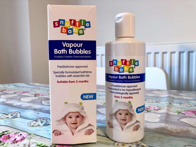 Snufflebabe Vapour Bath Bubbles