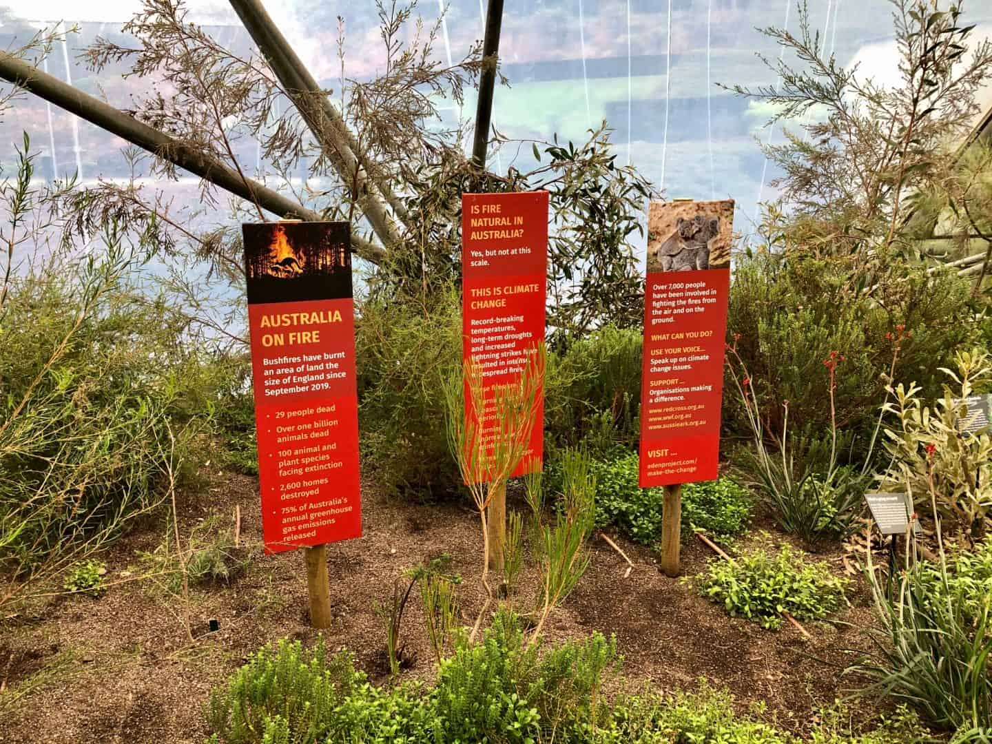 Australia on Fire - Eden Project