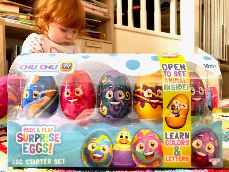 Chu Chu TV Peek and Play Surprise Eggs ABC Starter Set Review