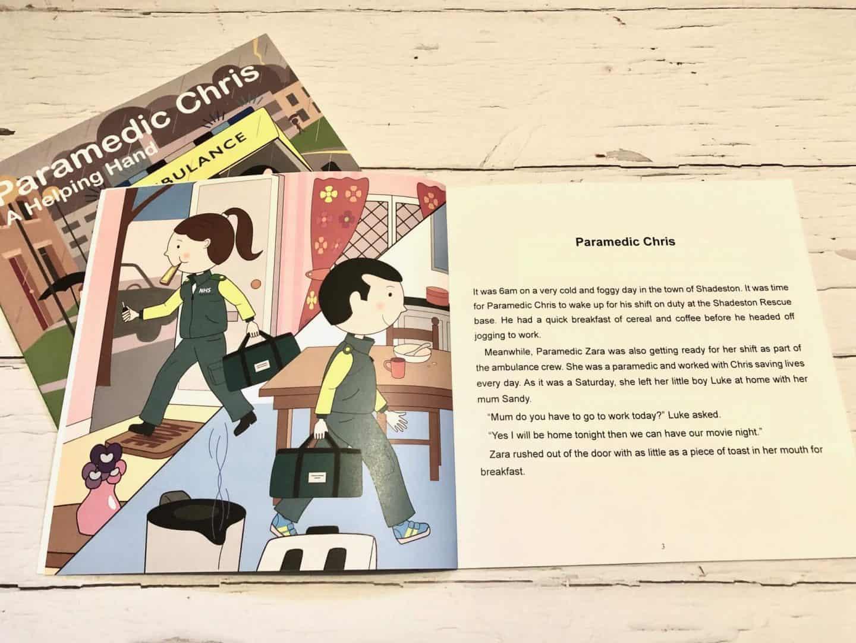 Paramedic Chris book review