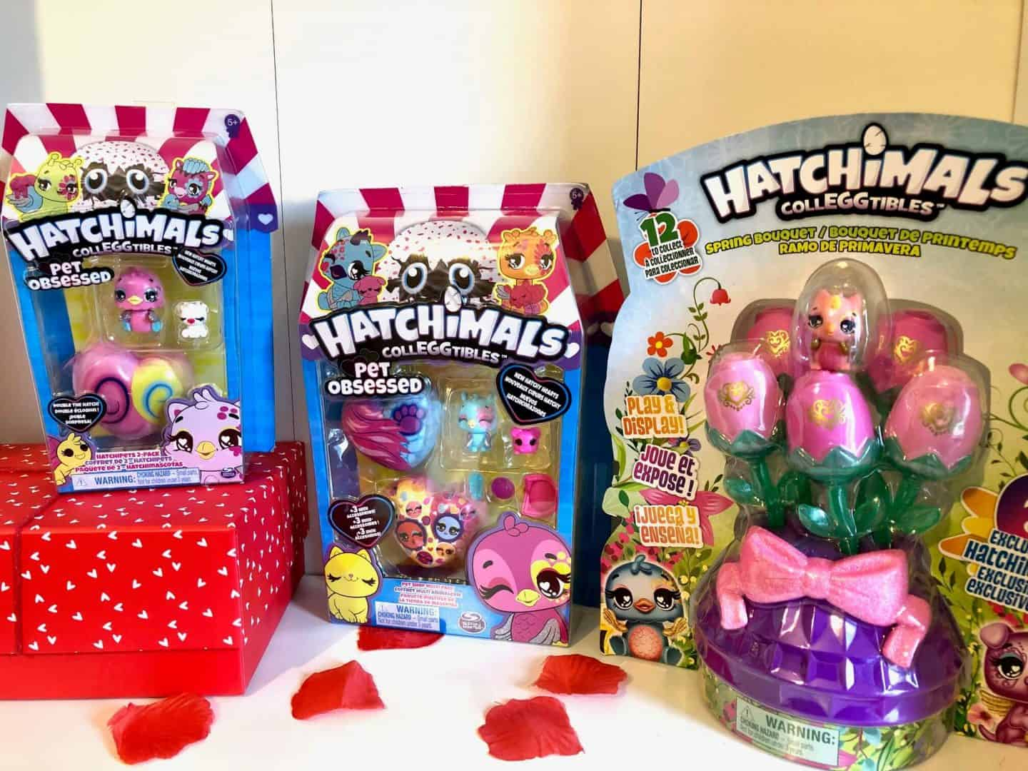 Pet Obsessed HatchiPets and Spring Bouquet Review - Hatchimals CollEGGtibles