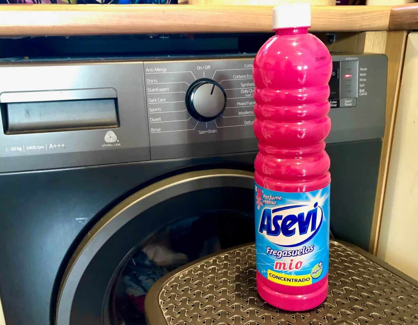 Asevi pink - spanish floor cleaner  - Spanish Cleaning Products