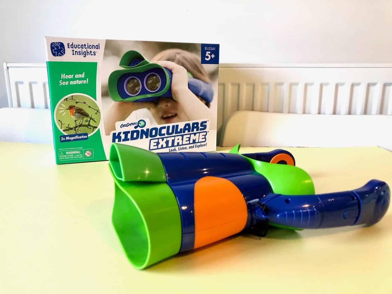 British Science Week Toy Review - Kidnoculars Extreme