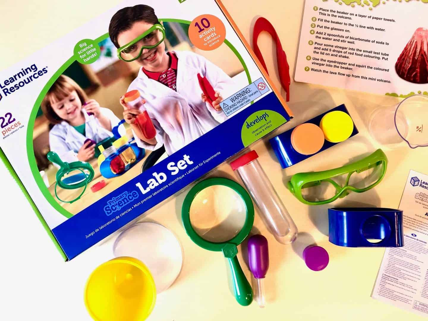 Lab Set Items - British Science Week Toy Review