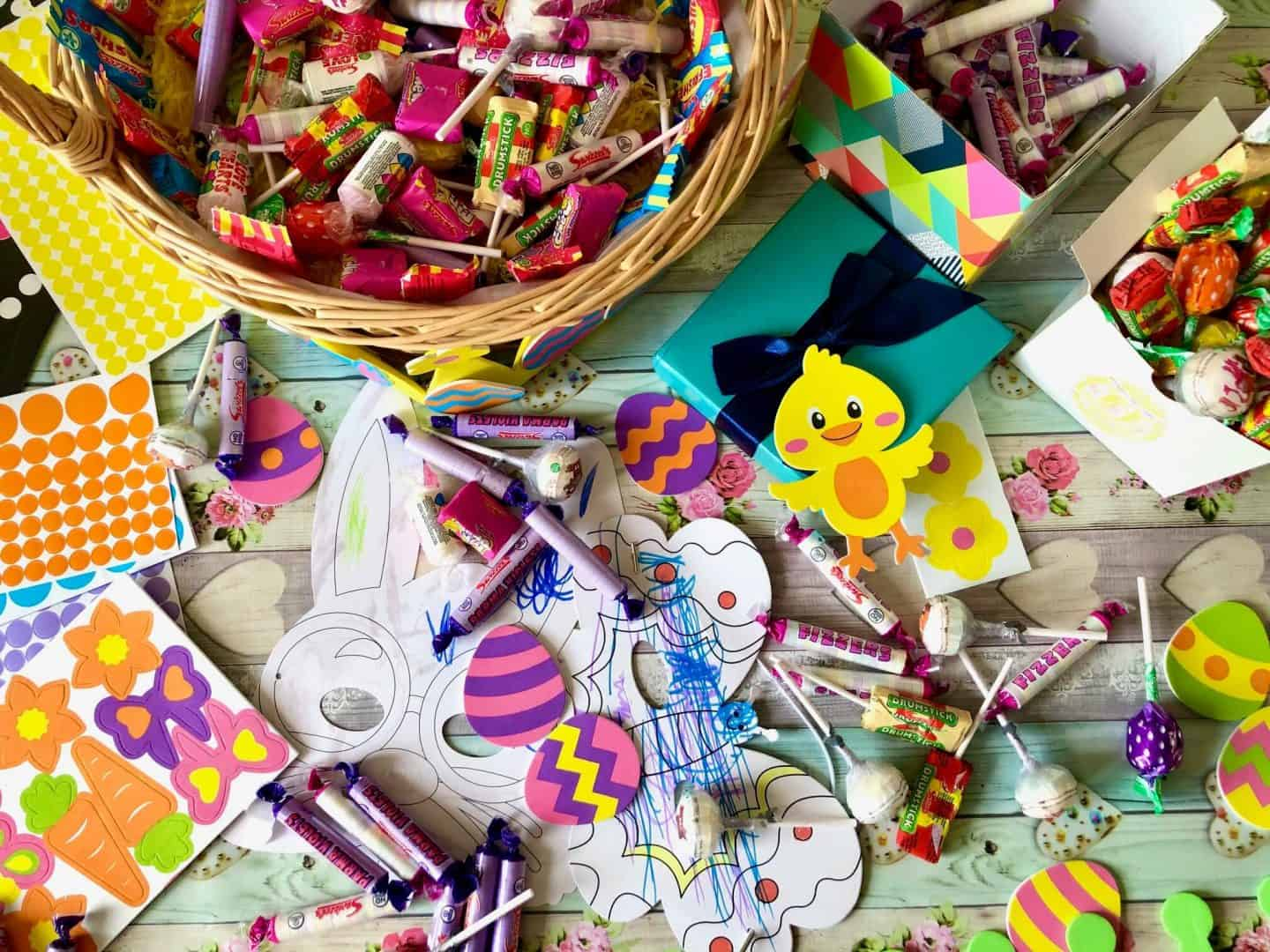 Making Easter Sweet Baskets with Swizzels