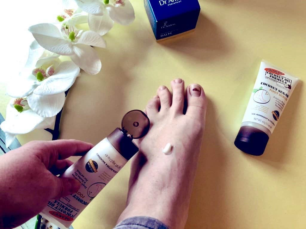 #NationalFeetWeek Looking after your feet with Palmers Coconut foot cream