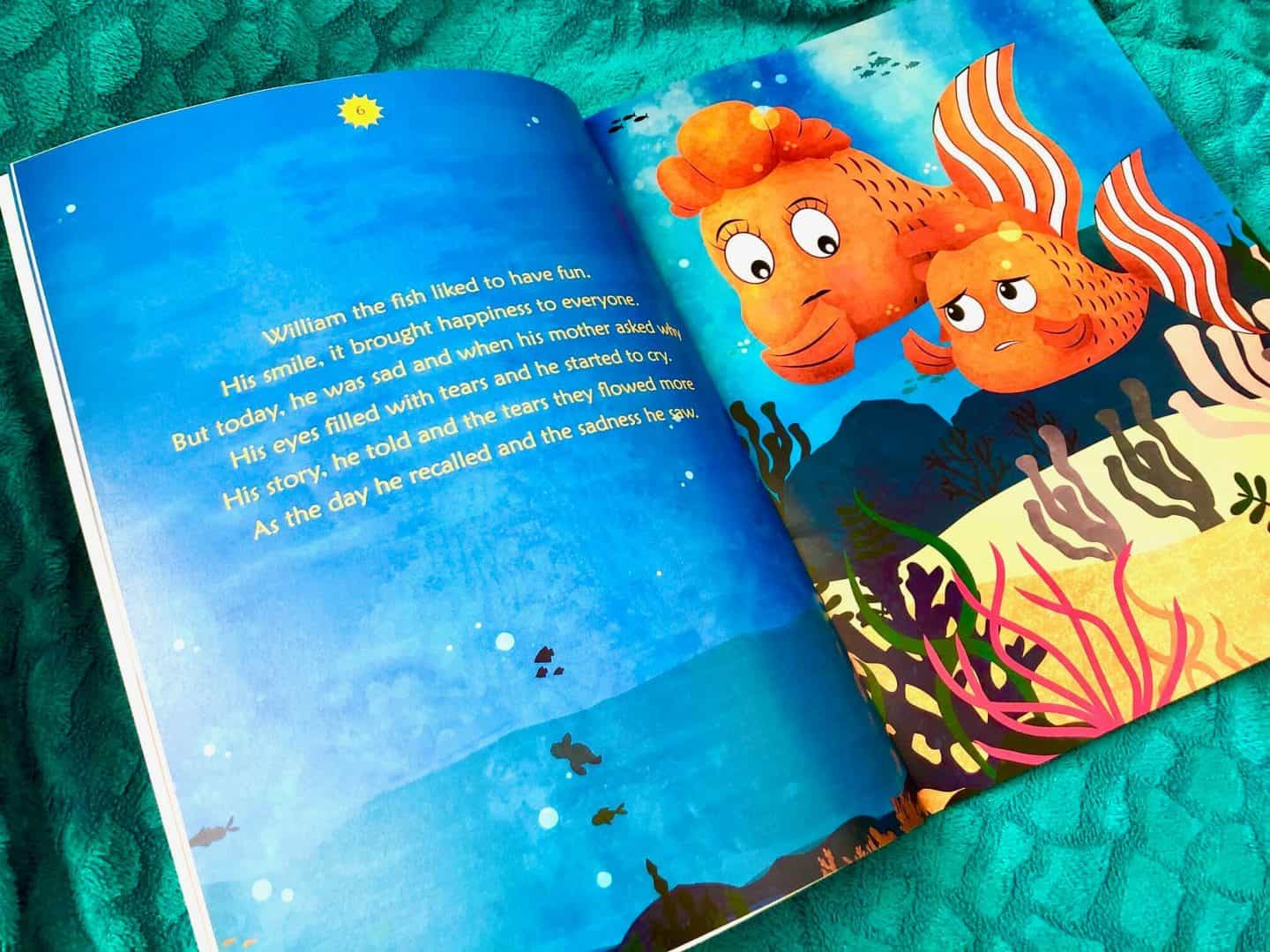 The Fish with a Wish by P M McCormick - Book Review and Giveaway