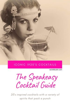 The Speakeasy Cocktail Guide - Iconic 1920s Cocktails