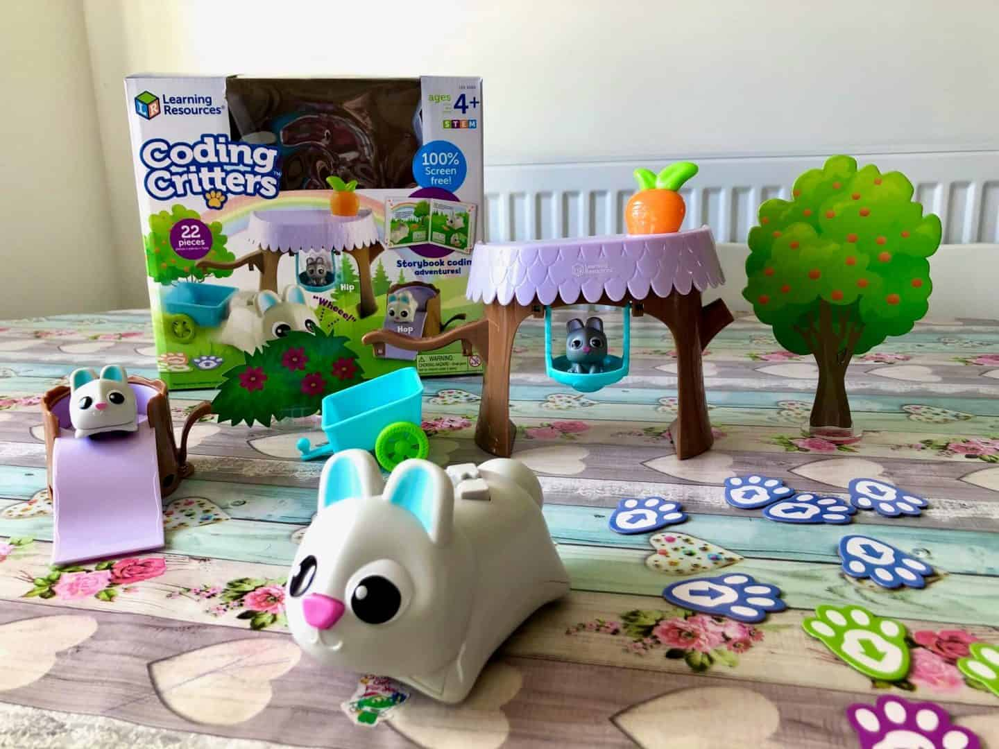 Coding Critters, Bopper, Hip and Hop 22 piece programming playset