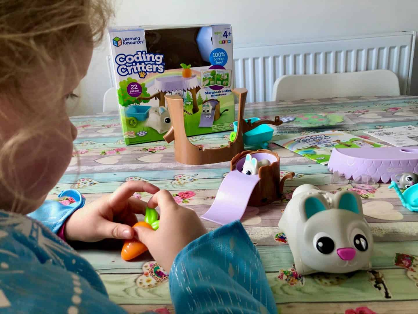 Coding Critters, Bopper, Hip and Hop playset