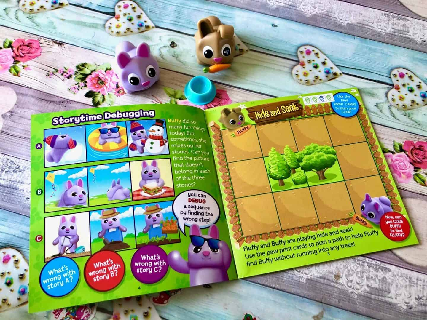 Coding Critters™ Pair-A-Pets Adventures with Fluffy & Buffy