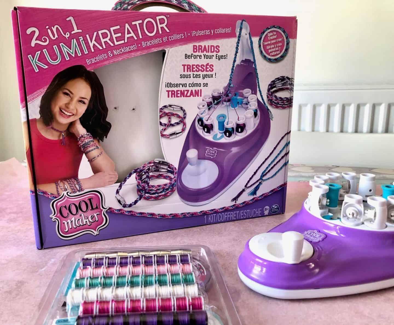 Cool Maker KumiKreator 2 in 1 Necklace and Friendship Bracelet Maker