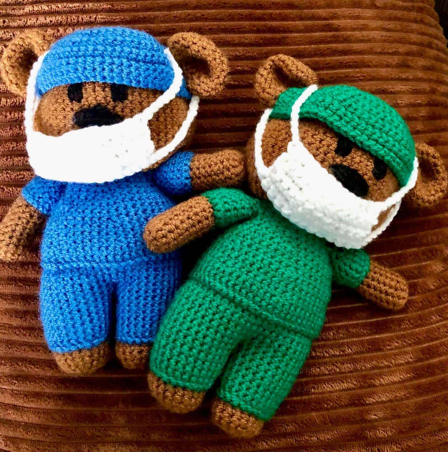 Crochet Bears For NHS Charities Together