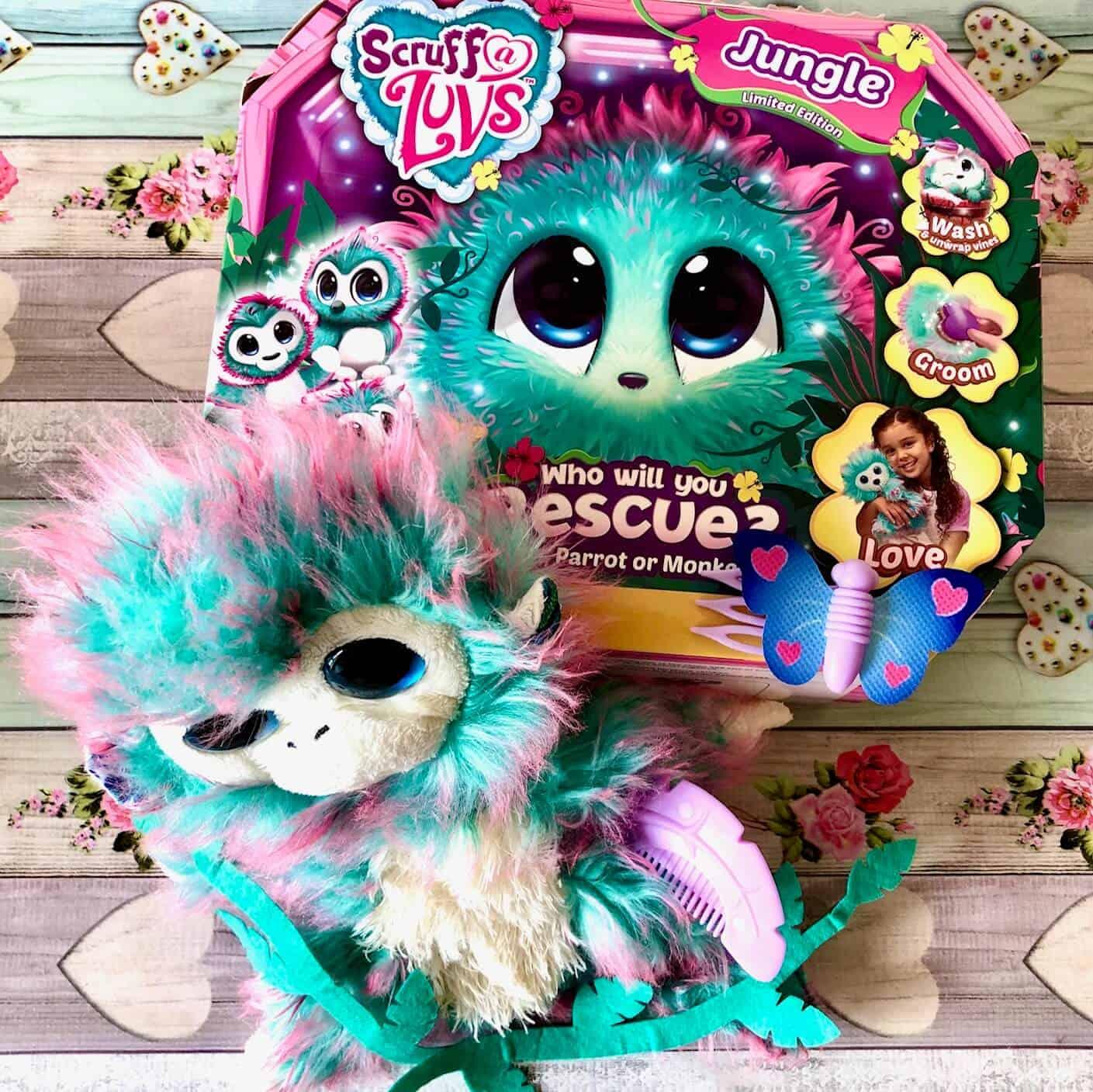 Fluffy Scruff-a-Luvs Jungle