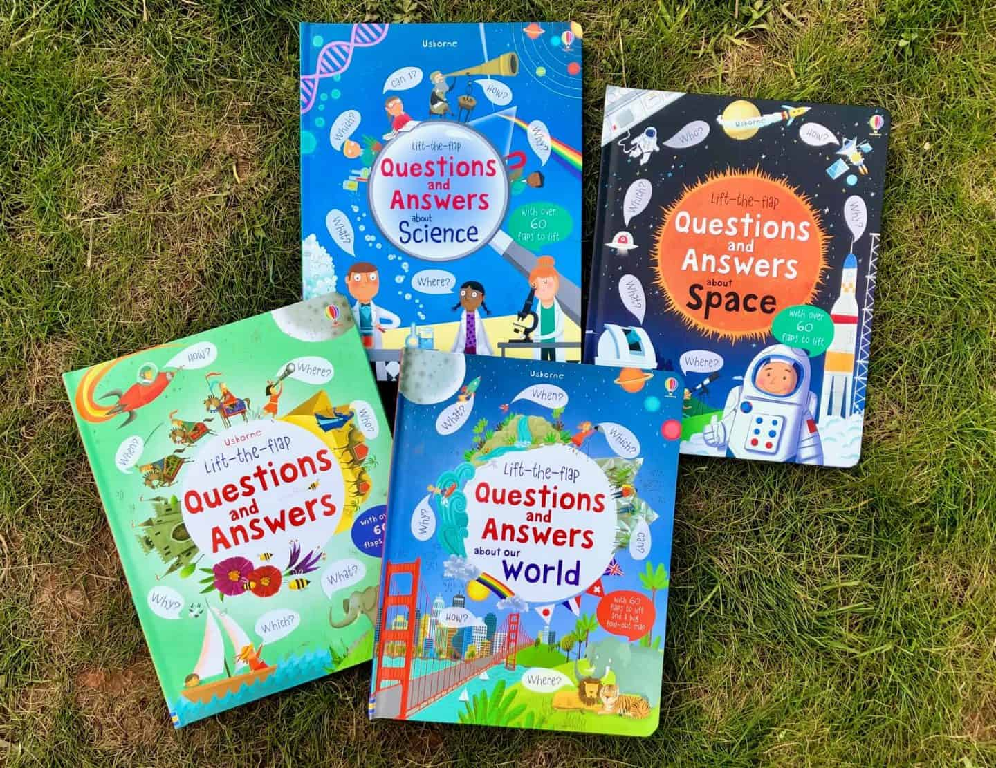 Getting a preschooler ready for school - Questions and Answer lift the flap books