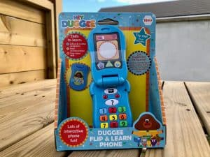 Hey Duggee Flip and Learn Phone Review and Giveaway