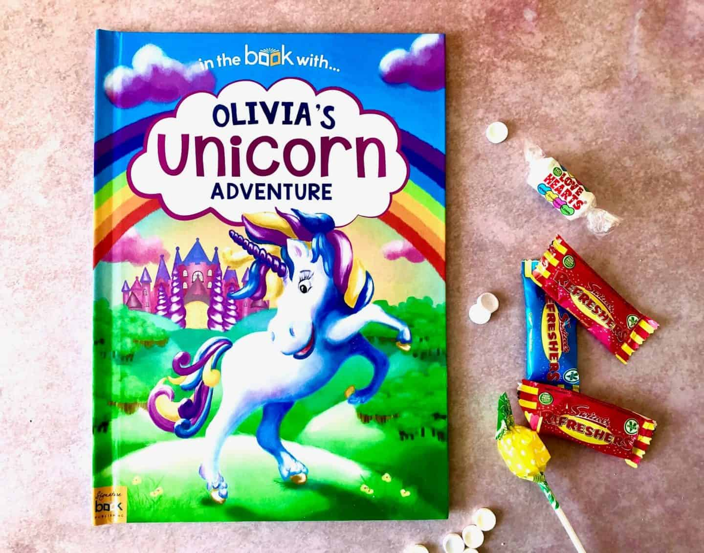 My Personalised Unicorn Adventure Book - Review and Giveaway