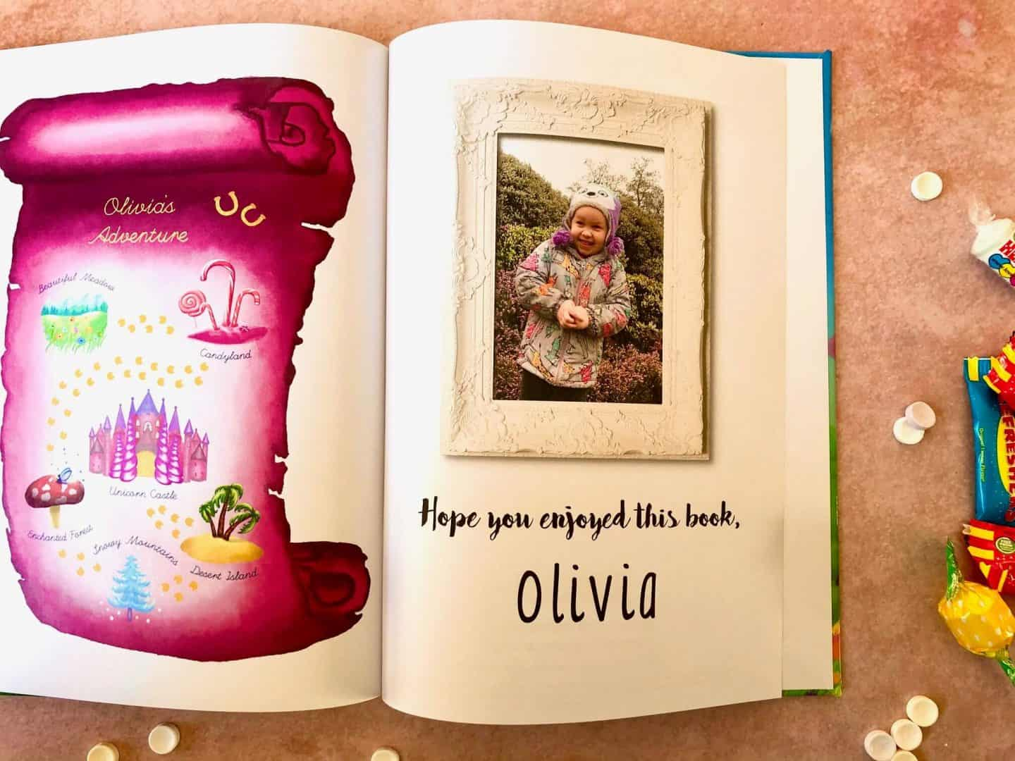 Olivia's Adventures in the Unicorn Book