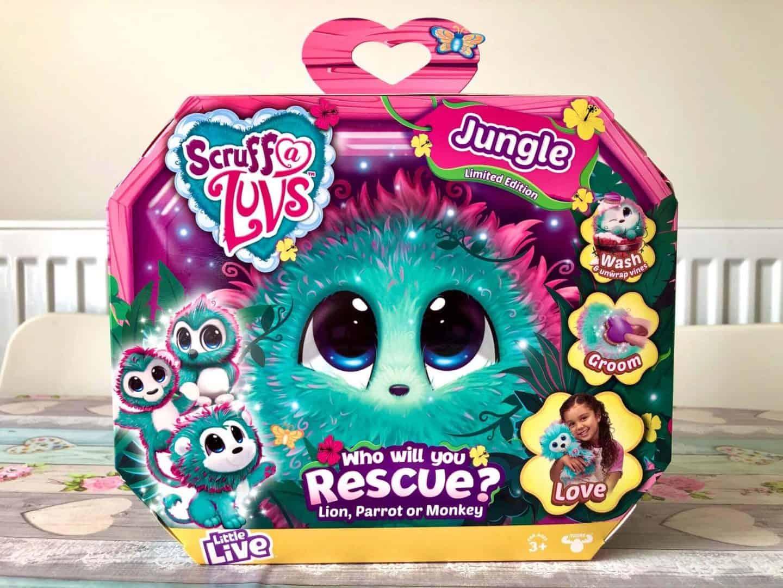 Scruff-a-Luvs Jungle Edition