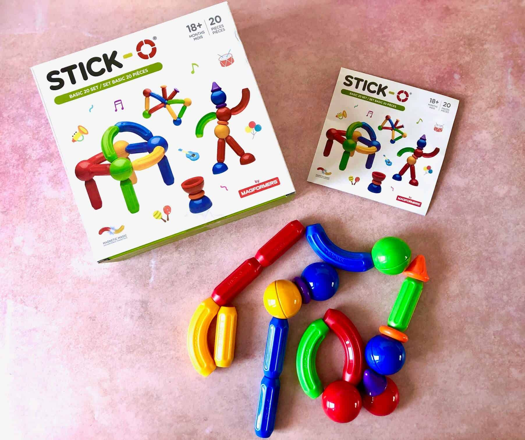 Stick-O Magnetic Construction For Toddlers and Preschoolers - stickman