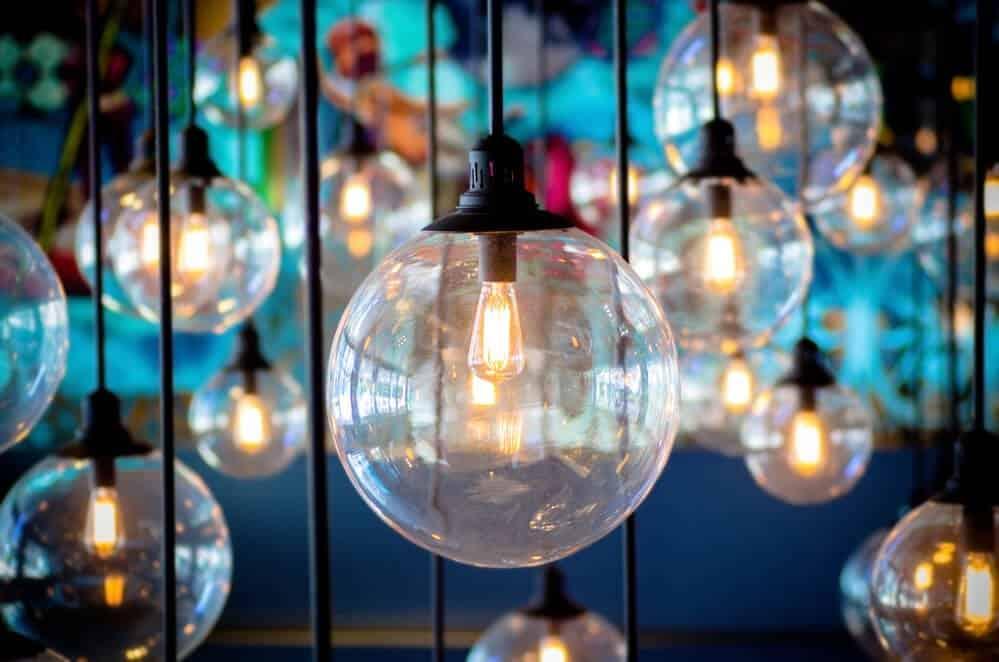 filament light bulb- Vintage Interiors Using Rustic Lighting