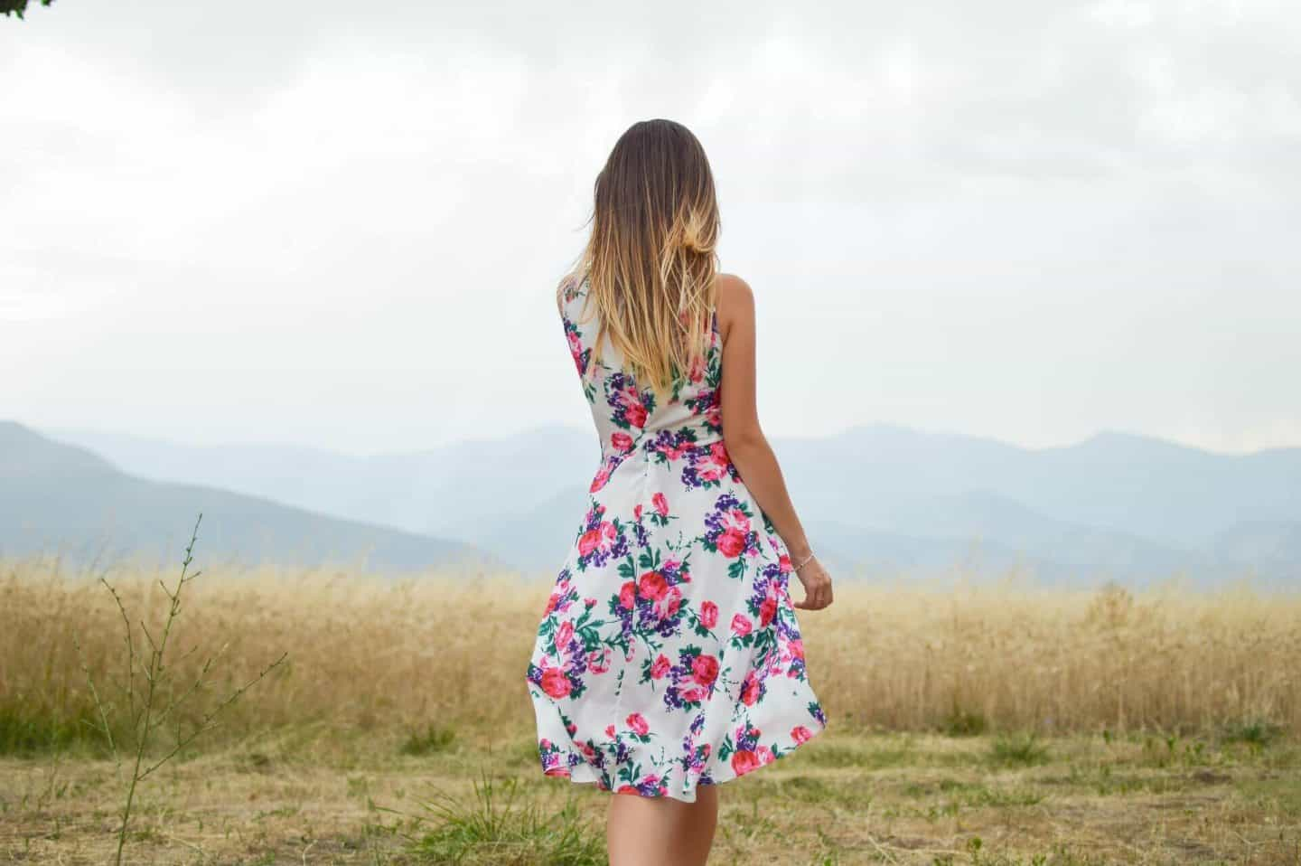 floral dress for a Spring Wardrobe